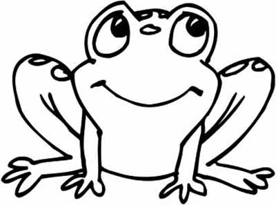 free baby frog coloring pages - photo#5